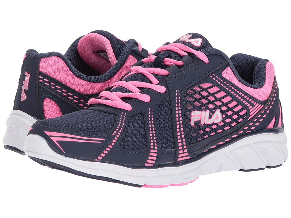 Fila Memory Passage (Fila Navy/Sugarplum/Metallic Silver) Women