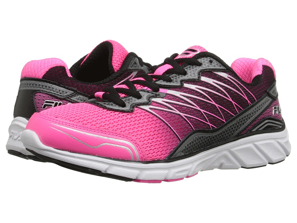 Fila - Countdown 2 (Knockout Pink/Black/Metallic Silver) Women's Shoes