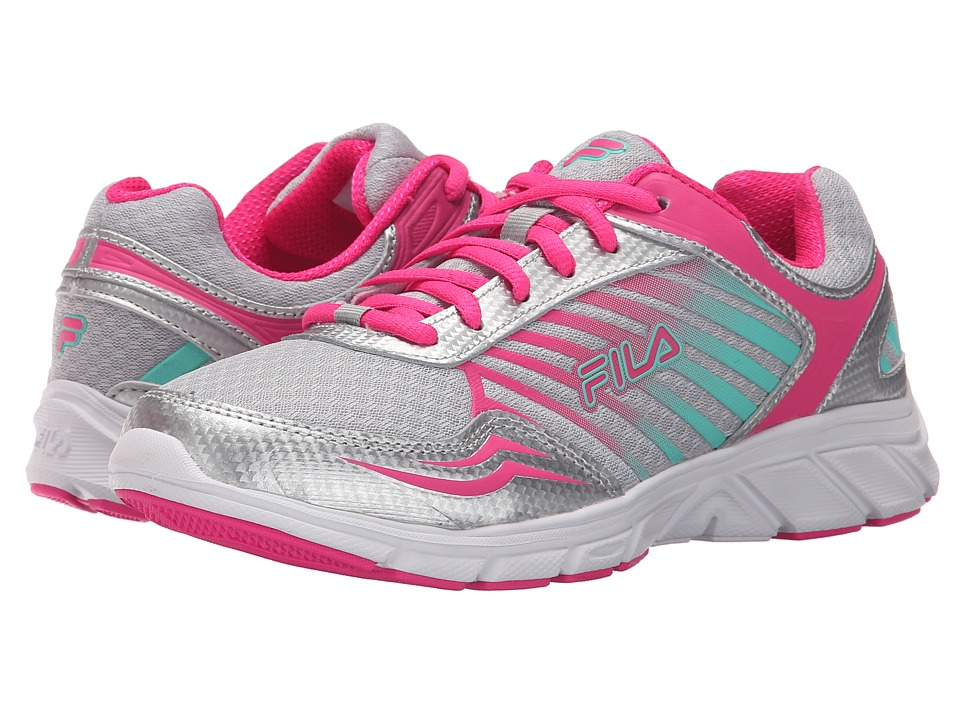 Fila - Gamble (Metallic Silver/Pink Glo/Cockatoo) Women
