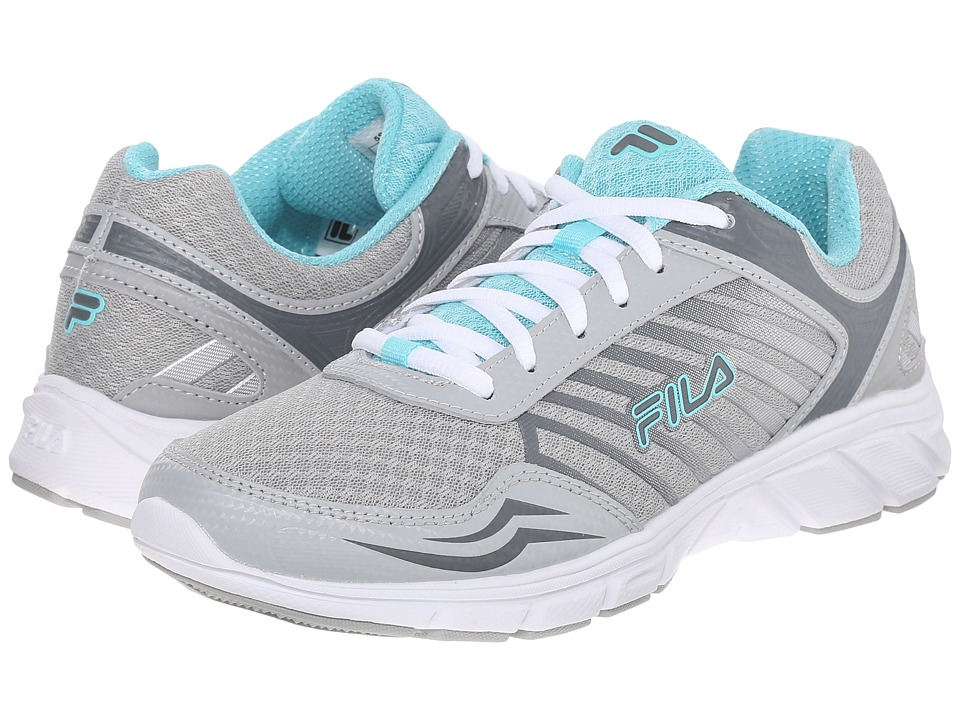 Fila - Gamble (High Rise/Monument/Aruba Blue) Women's Shoes