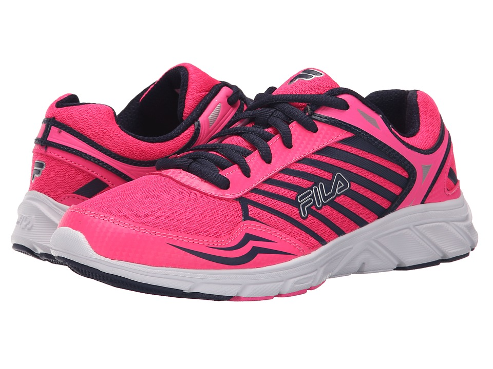 Fila - Gamble (Knockout Pink/Fila Navy/White) Women's Shoes