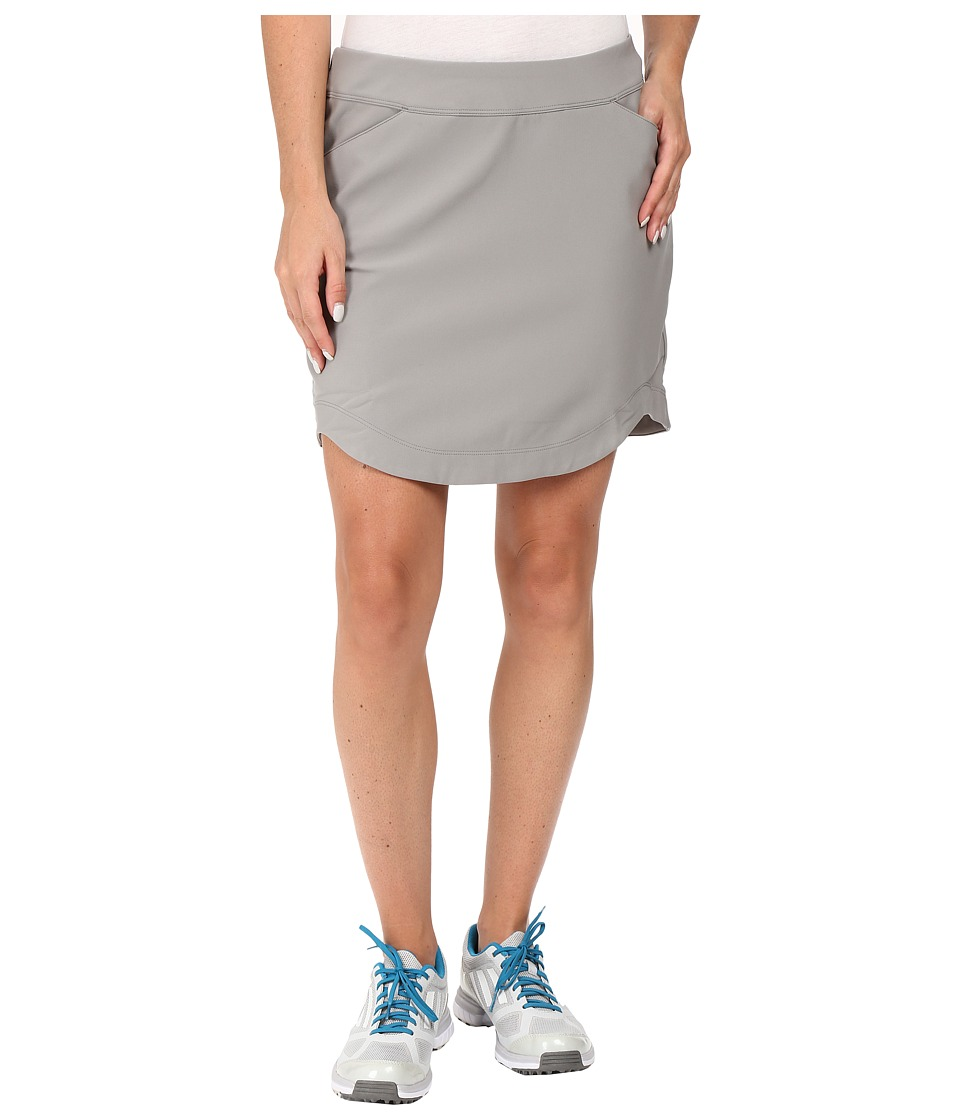adidas Golf - CLIMASTORM Skort (Charcoal Solid Grey) Women's Skort