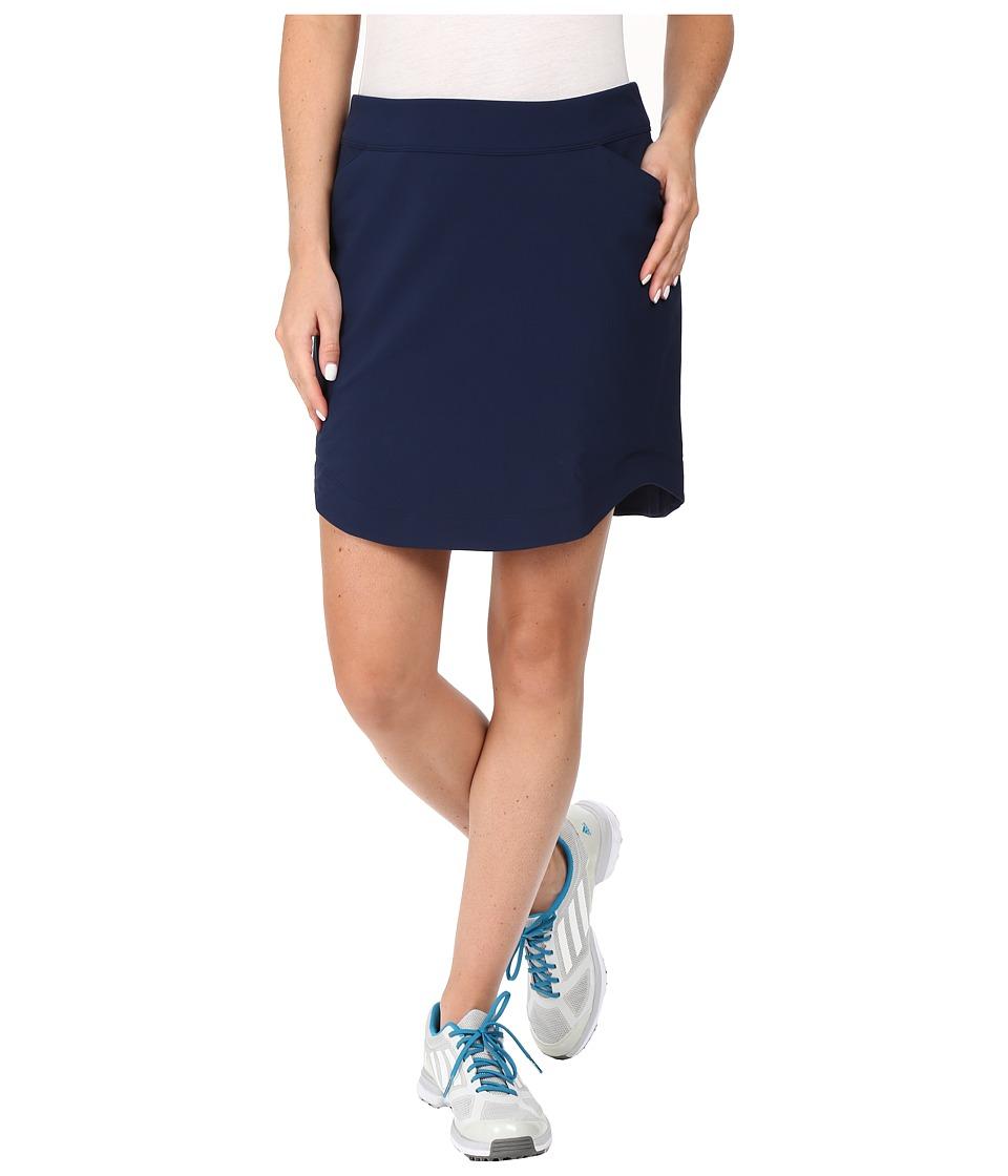 adidas Golf - CLIMASTORM Skort (Collegiate Navy) Women's Skort