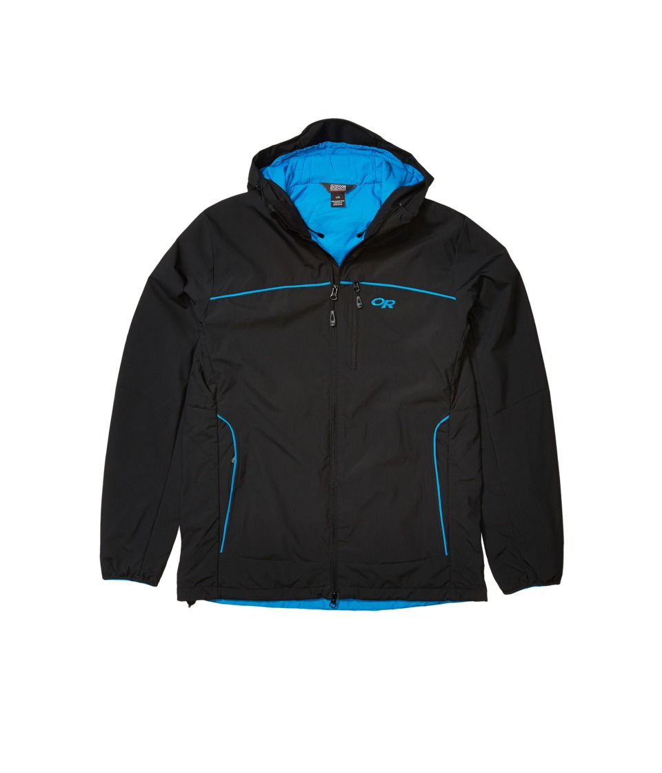 Outdoor Research - Razoredge Hooded Jacket (Black/Tahoe) Men's Coat