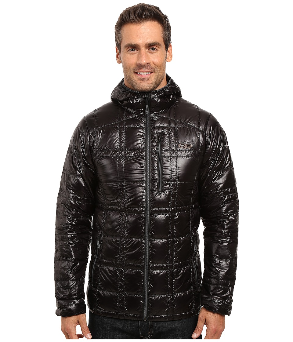 Outdoor Research - Filament Hooded Jacket (Black) Men's Coat