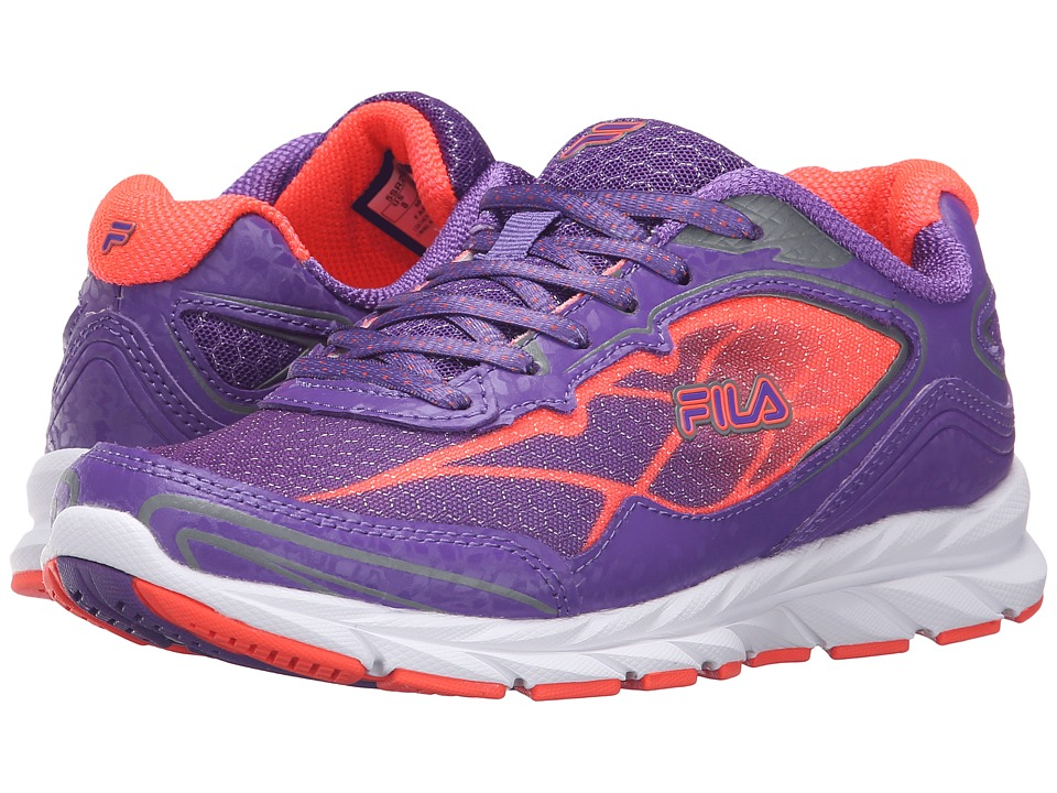 Fila - Finado (Electric Purple/Fiery Coral/Dark Silver) Women's Shoes