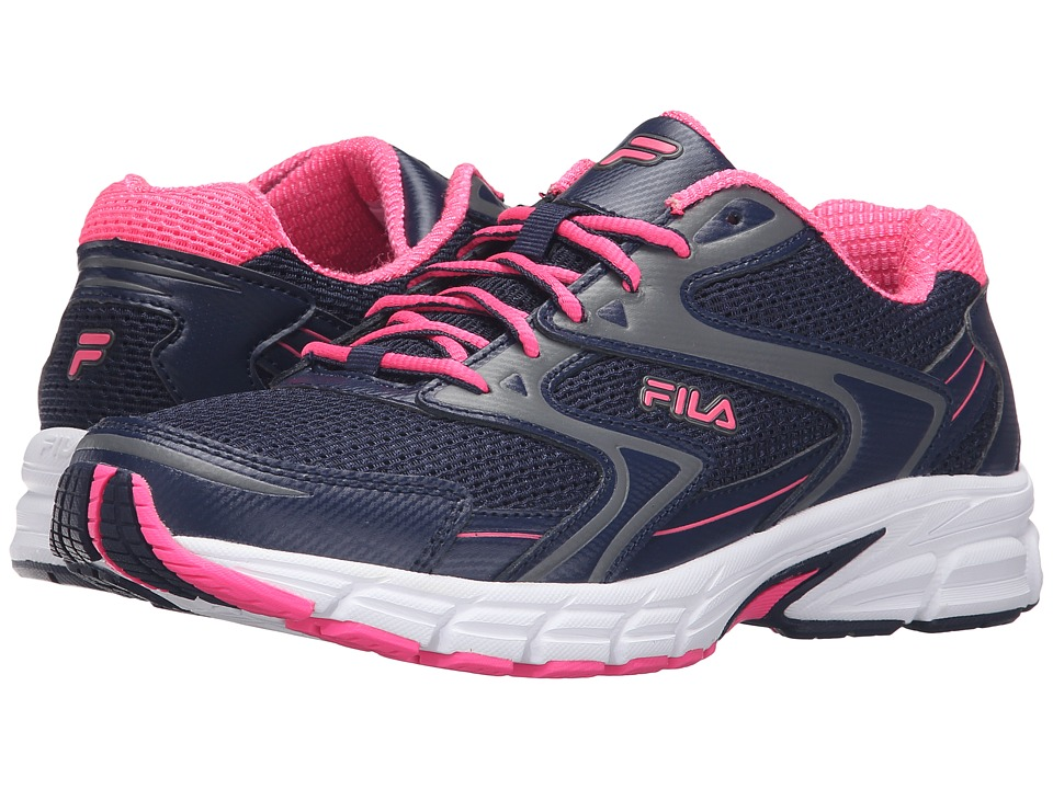 Fila - Xtent 3 (Fila Navy/Knockout Pink/White) Women's Shoes