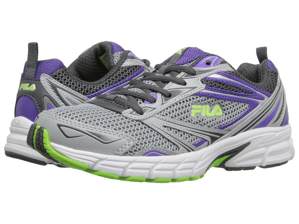 Fila - Royalty (Metallic Silver/Electric Purple/Green Gecko) Women
