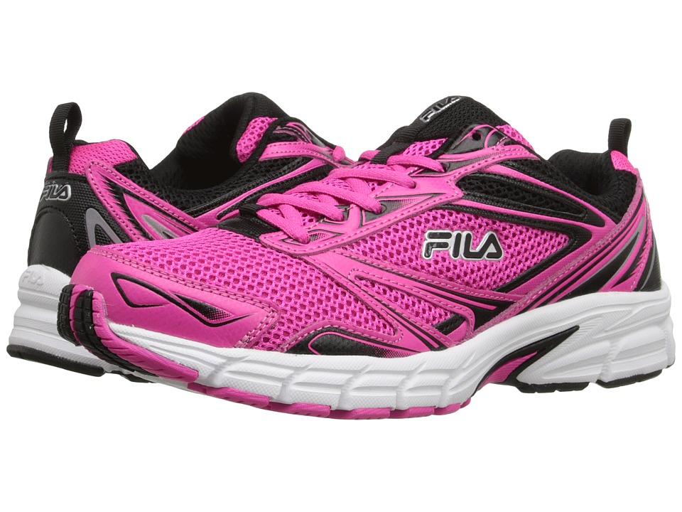 Fila - Royalty (Pink Glo/Black/White) Women