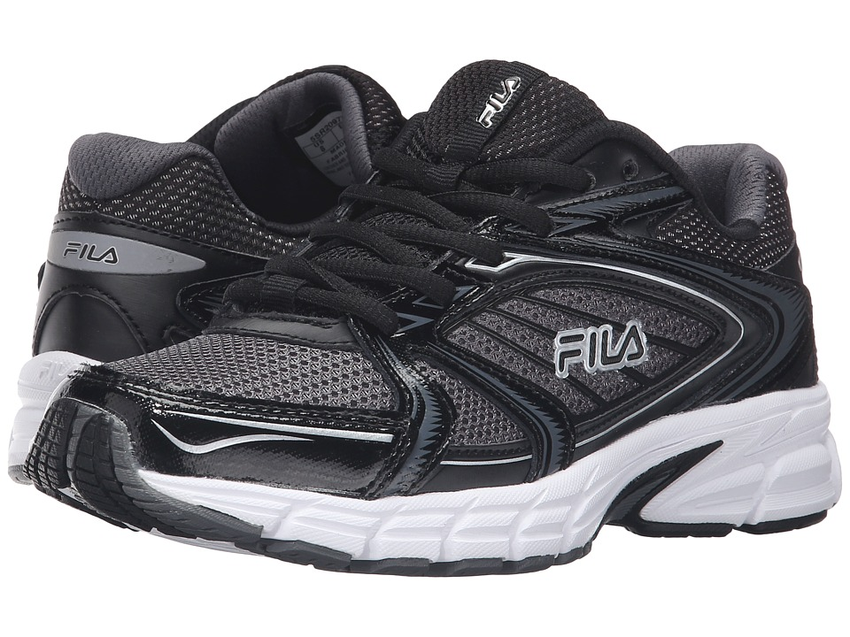 Fila - Reckoning 7 (Castlerock/Black/Metallic Silver) Women's Shoes