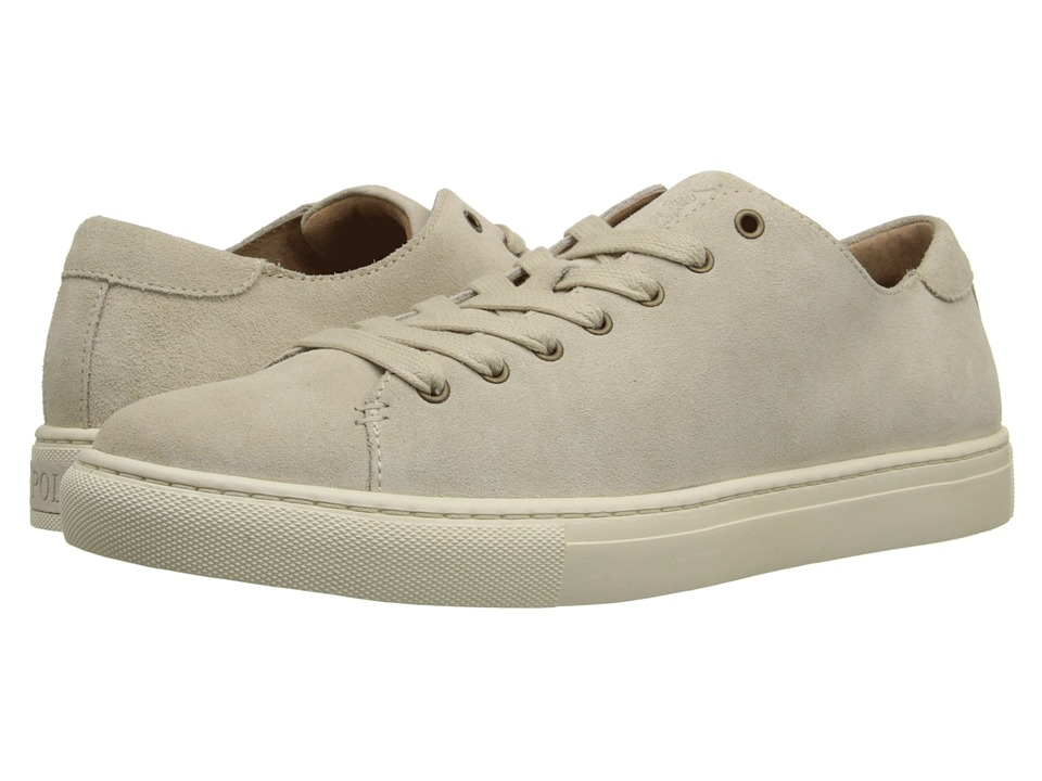 Polo Ralph Lauren - Jermain (Cream Sport Suede) Men's Lace up casual Shoes