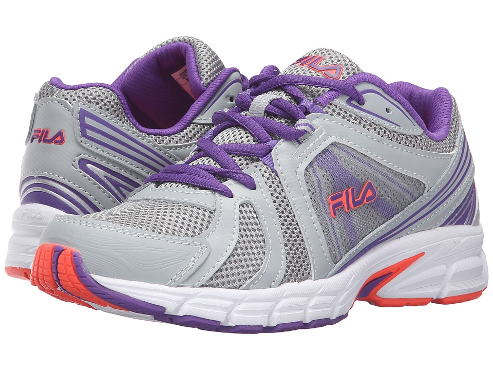 Fila - Gravion (High Rise/Electric Purple/Fiery Coral) Women's Shoes