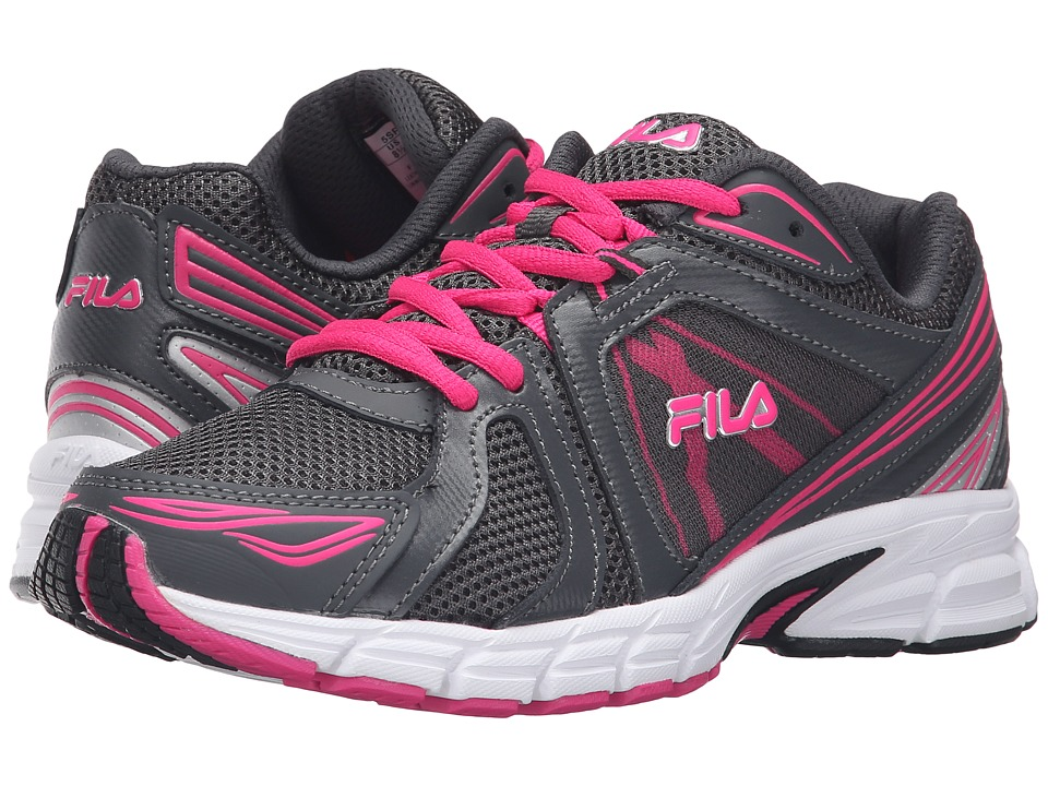 Fila - Gravion (Dark Shadow/Pink Glo/Metallic Silver) Women's Shoes
