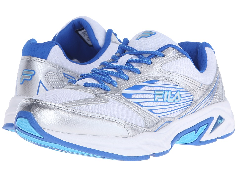 Fila Inspell 3 (White/Electric Blue/Atomic Blue) Women