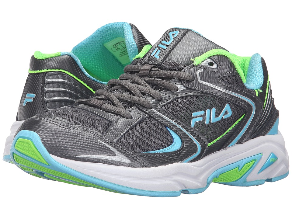 Fila - Thunderfire (Dark Silver/Metallic Silver/Bluefish) Women