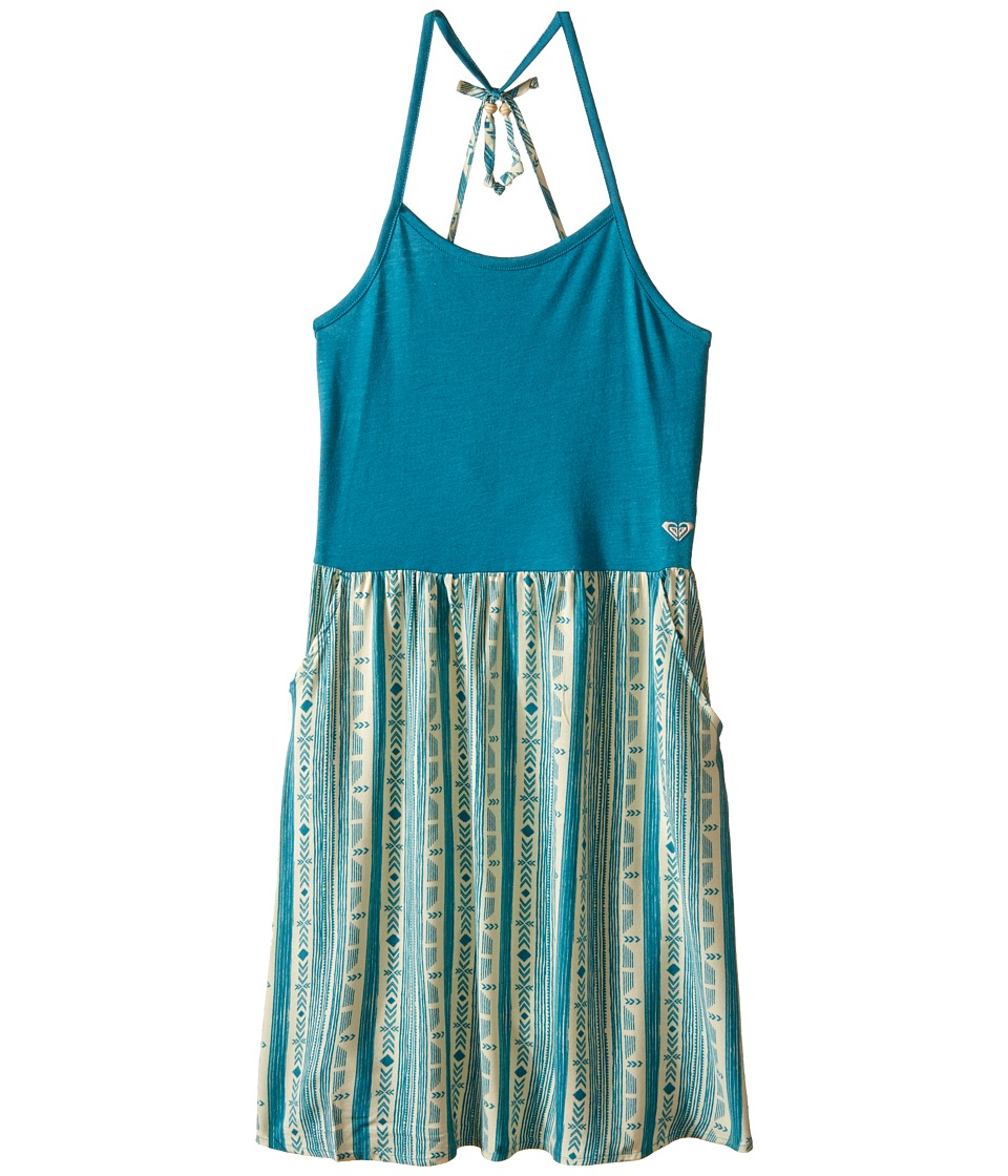 Roxy Kids - Joyride Dress (Big Kids) (Biscay Bay) Girl's Dress