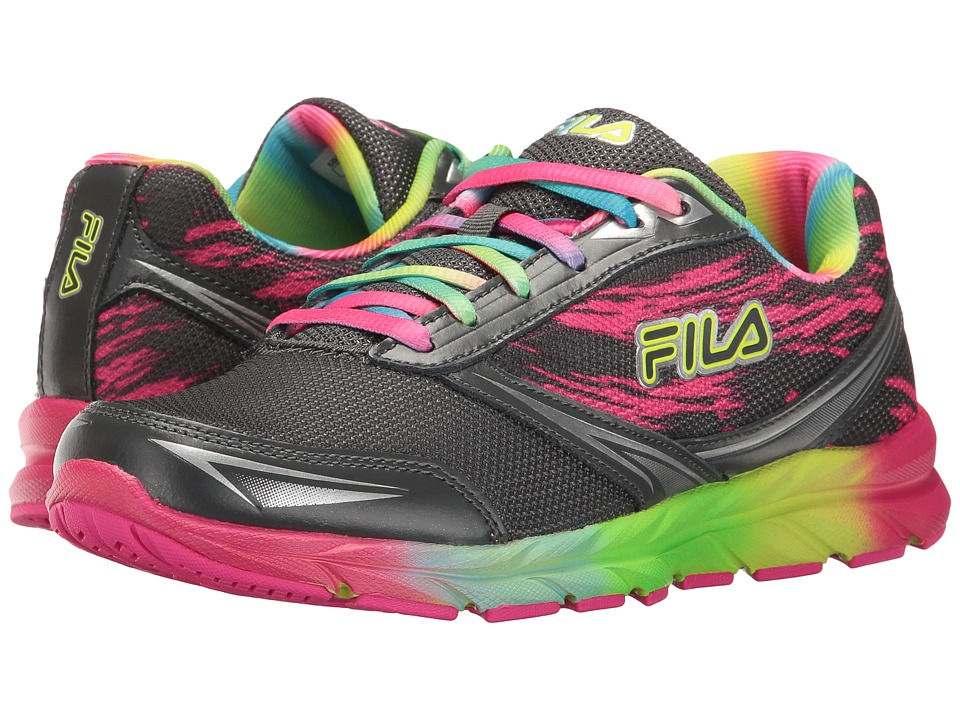 Fila - Memory Tempera (Castlerock/Metallic Silver/Rainbow) Women's Shoes