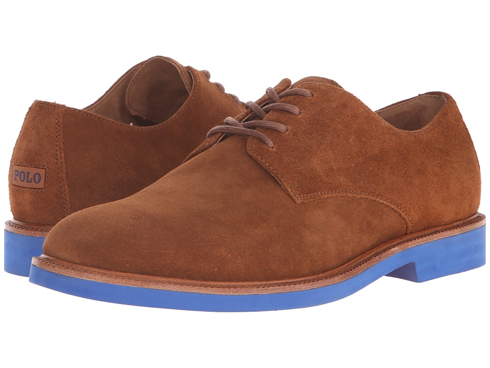 Polo Ralph Lauren - Torrington (New Snuff Suede) Men's Lace up casual Shoes