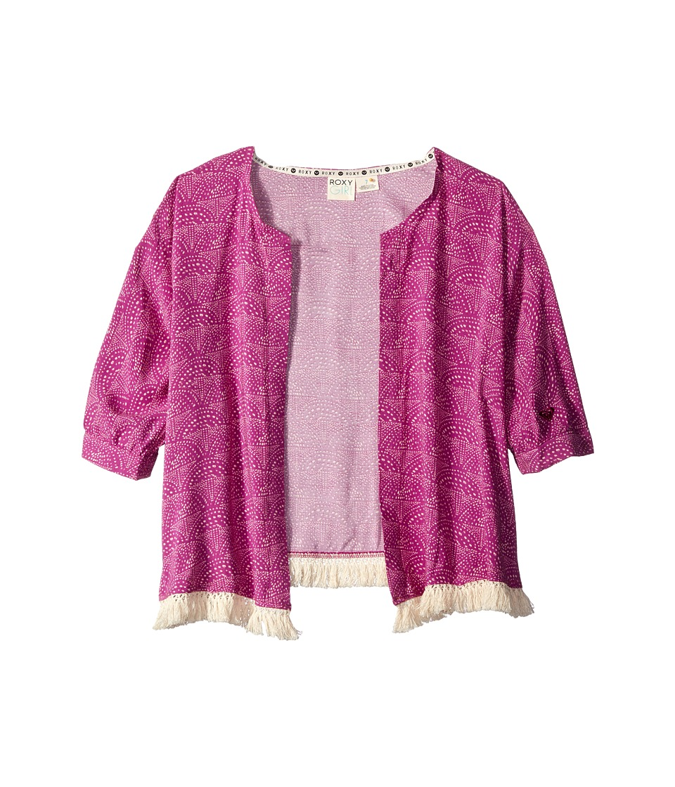 Roxy Kids - Coral Kimono (Big Kids) (Purple Wine) Girl's Clothing