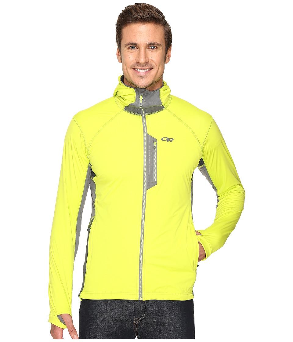 Outdoor Research - Centrifuge Hoodie (Lemongrass/Pewter) Men's Sweatshirt