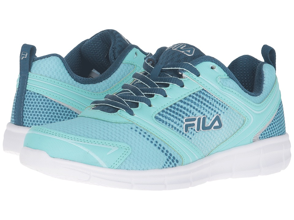 Fila - Windstar 2 (Aruba Blue/Blue/Aqua) Women's Shoes