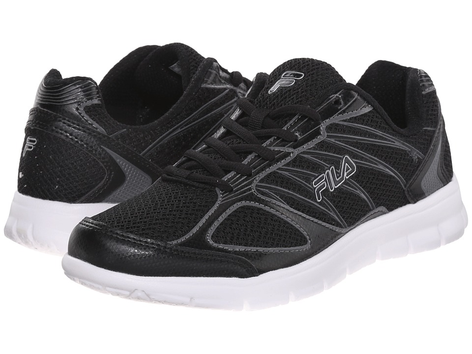 Fila - 3A Capacity (Black/Black/Dark Silver) Women