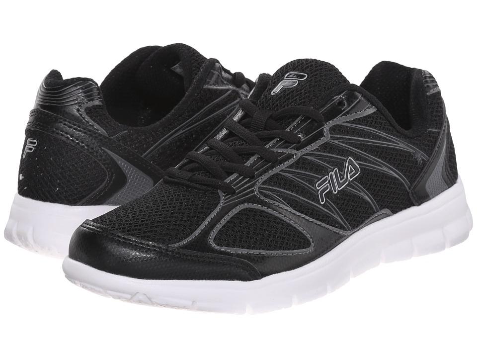 Fila - 3A Capacity (Black/Black/Dark Silver) Women's Shoes