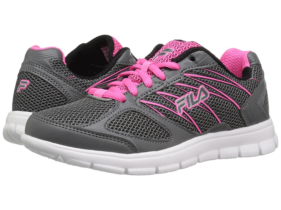 Fila - 3A Capacity (Dark Silver/Knockout Pink/Black) Women's Shoes