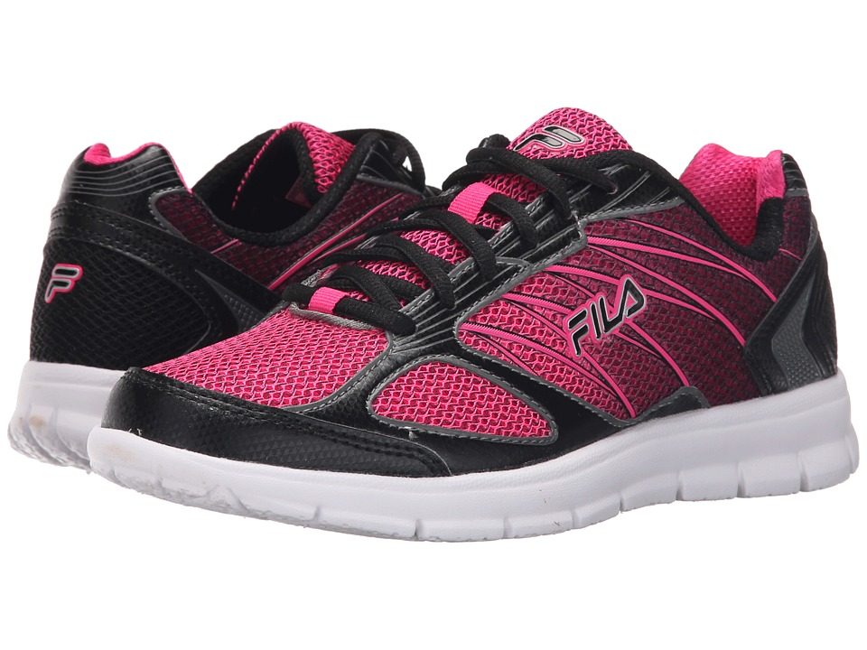 Fila - 3A Capacity (Pink Glo/Black/Castlerock) Women's Shoes
