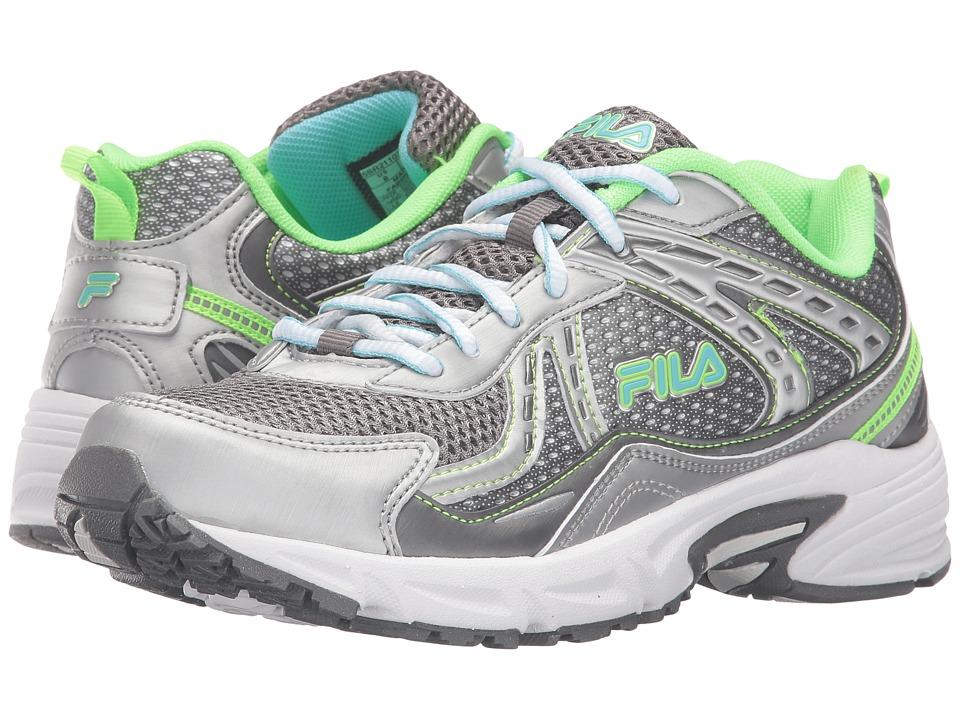 Fila - Validation (Dark Silver/Green Gecko/Bluefish) Women's Shoes