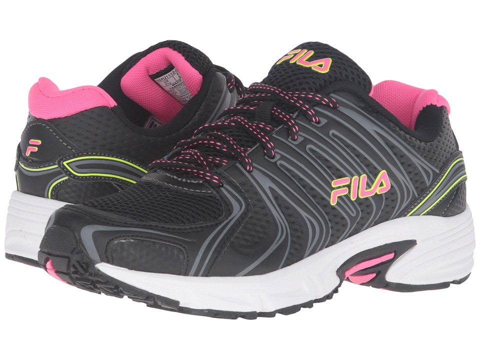 Fila - Varigate (Black/Knockout Pink/Safety) Women's Shoes