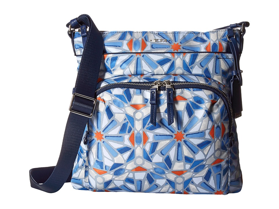 Tumi - Voyageur Capri Crossbody (Cayenne Tile Print) Cross Body Handbags