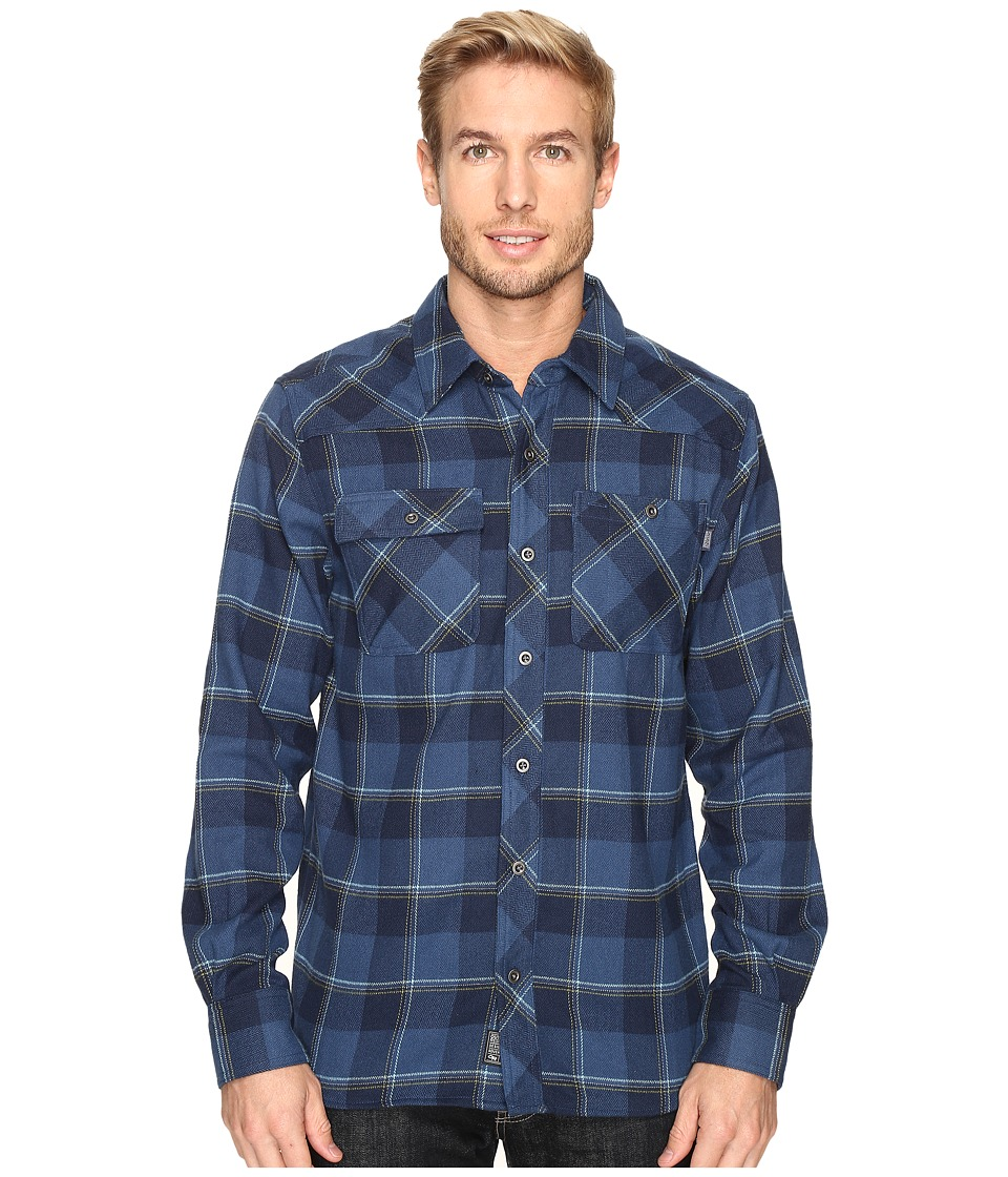 Outdoor Research Feedback Flannel Shirt Night Mens Long Sleeve Button Up