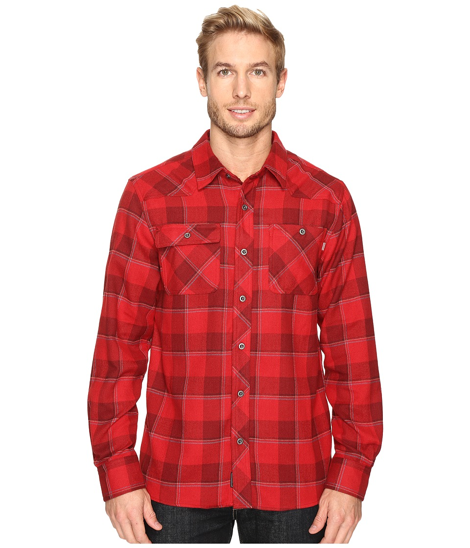 Outdoor Research - Feedback Flannel Shirt (Agate) Men's Long Sleeve Button Up