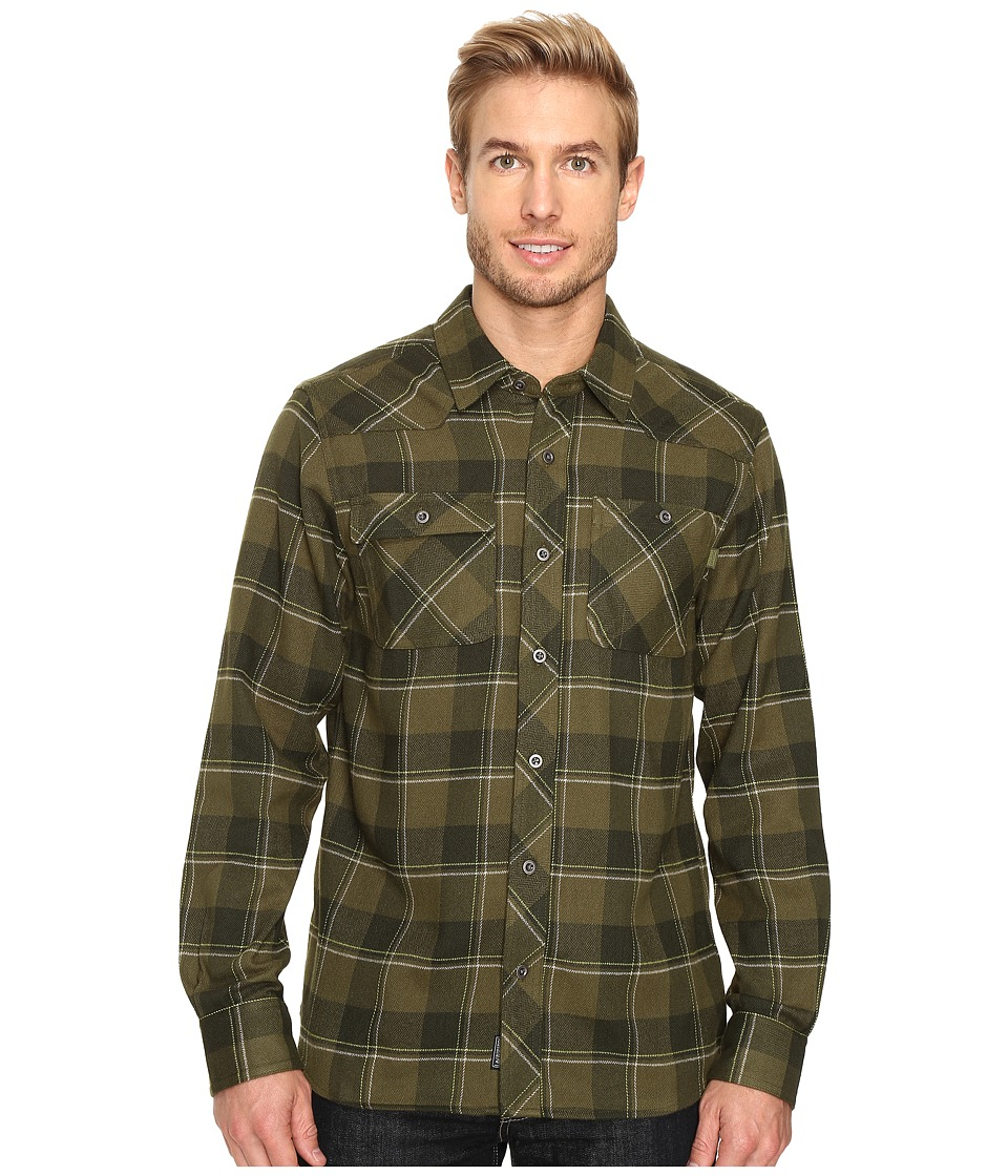 Outdoor Research - Feedback Flannel Shirt (Kale) Men's Long Sleeve Button Up