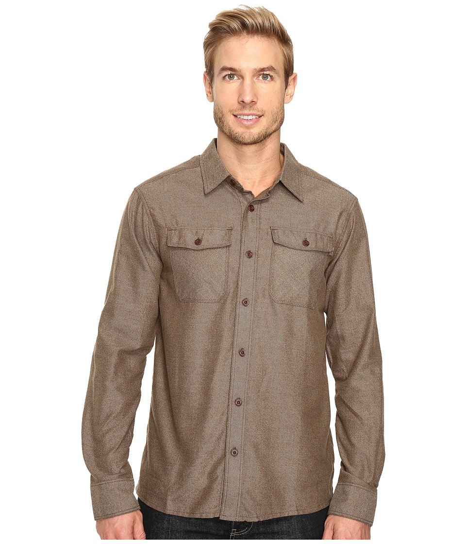 Outdoor Research - Gastown Long Sleeve Shirt (Earth) Men's Clothing
