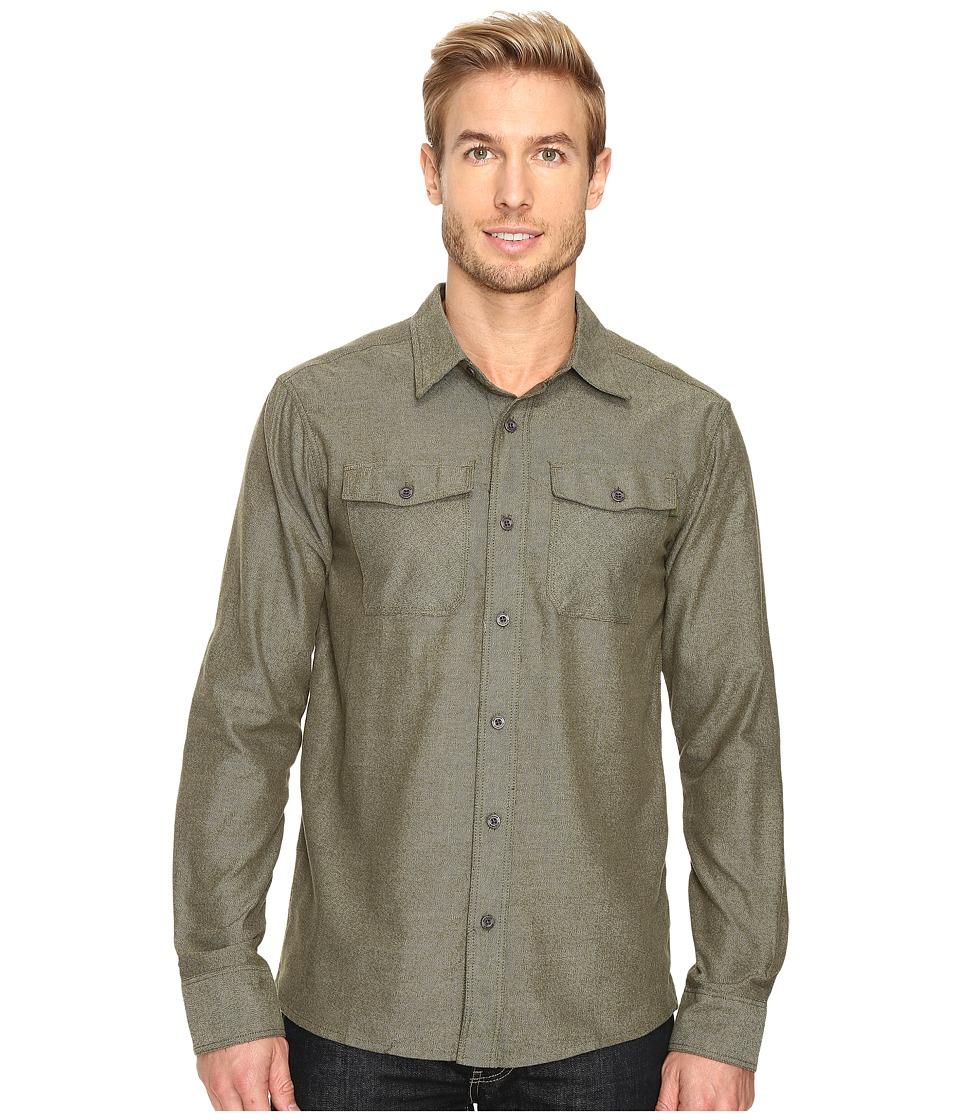 Outdoor Research - Gastown Long Sleeve Shirt (Kale) Men's Clothing