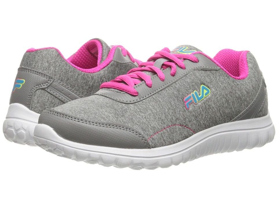 Fila - Lite Spring Heather (Monument/Pink Glo/Baltic Blue) Women's Shoes