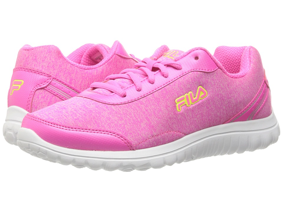 Fila - Lite Spring Heather (Sugarplum/Red/Safety Yellow) Women's Shoes