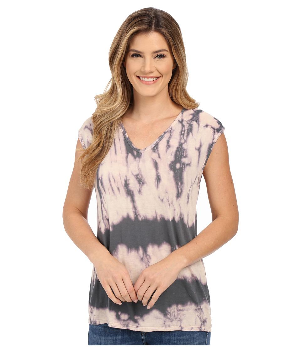 XCVI - Valerie Top (Obsidian Wash/Spruce) Women's Clothing