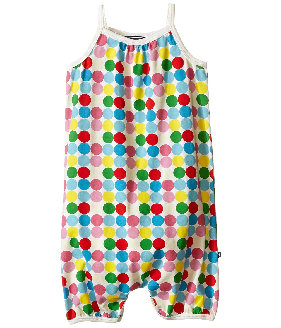 Toobydoo - Dot Romper Suit (Infant) (Green/Blue/Red/Yellow/White Dot) Girl's Jumpsuit & Rompers One Piece