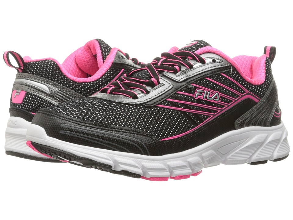 Fila - Forward 3 (Black/Dark Silver/Knockout Pink) Women