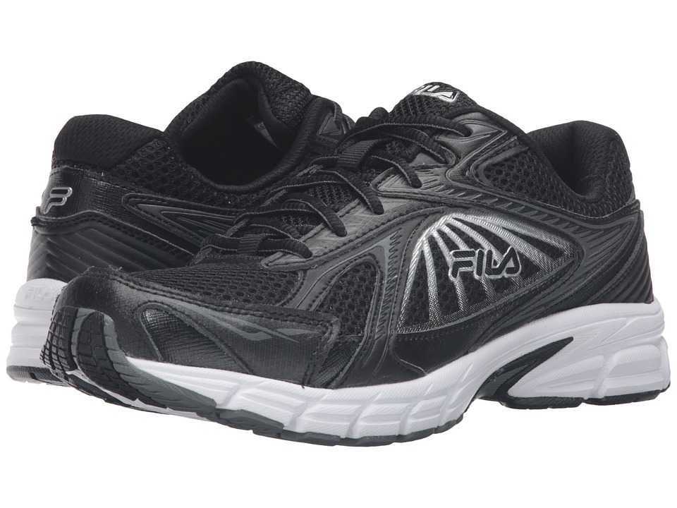 Fila - Omnispeed (Black/Black/Metallic Silver) Women