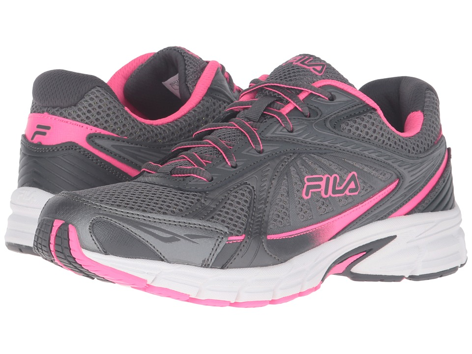 Fila - Omnispeed (Dark Silver/Dark Shadow/Knockout Pink) Women's Shoes