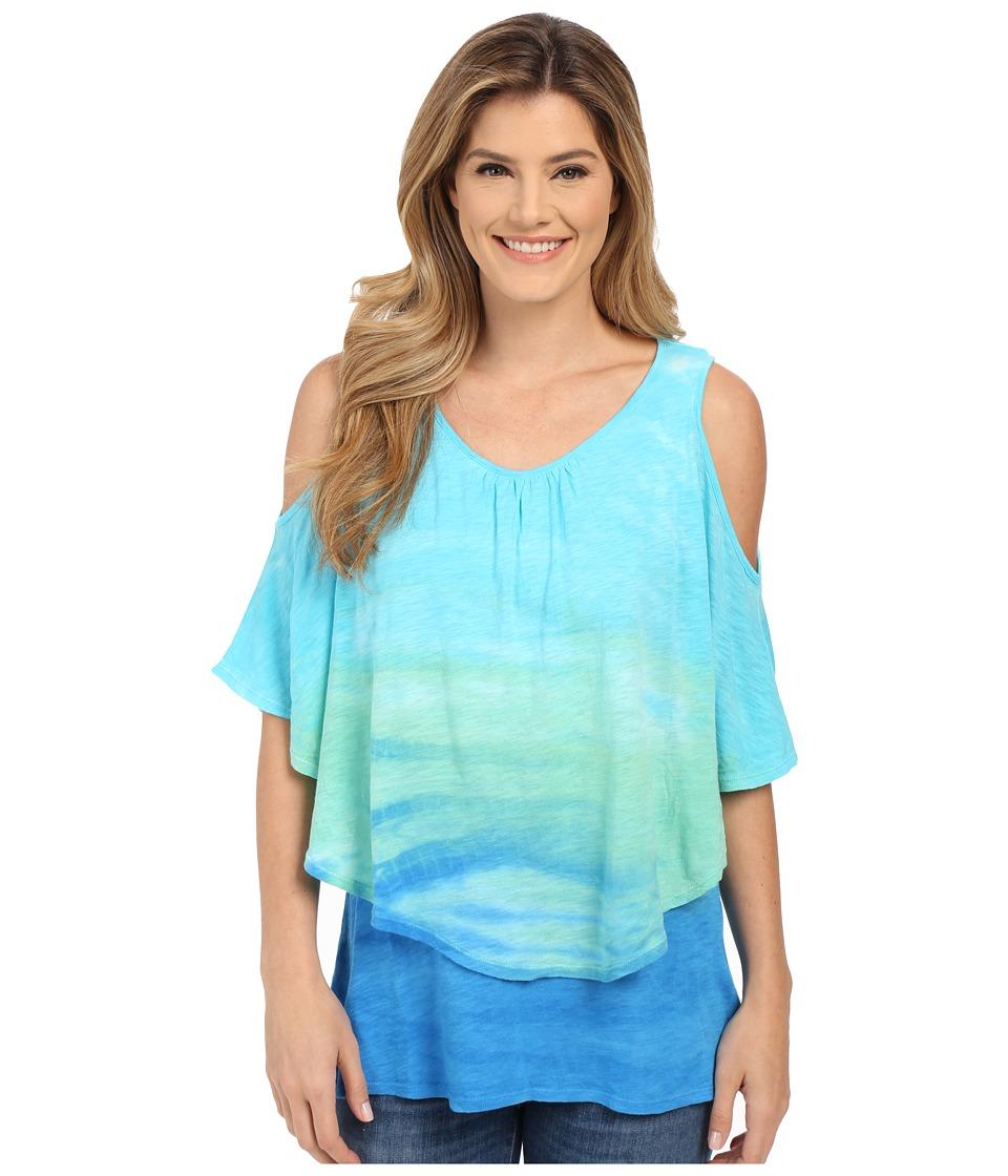 XCVI - Frannie Top (Beach Wash) Women's Clothing