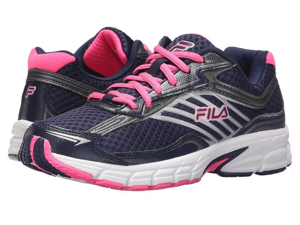 Fila - Xtenuate (Fila Navy/Dark Silver/Knockout Pink) Women's Shoes