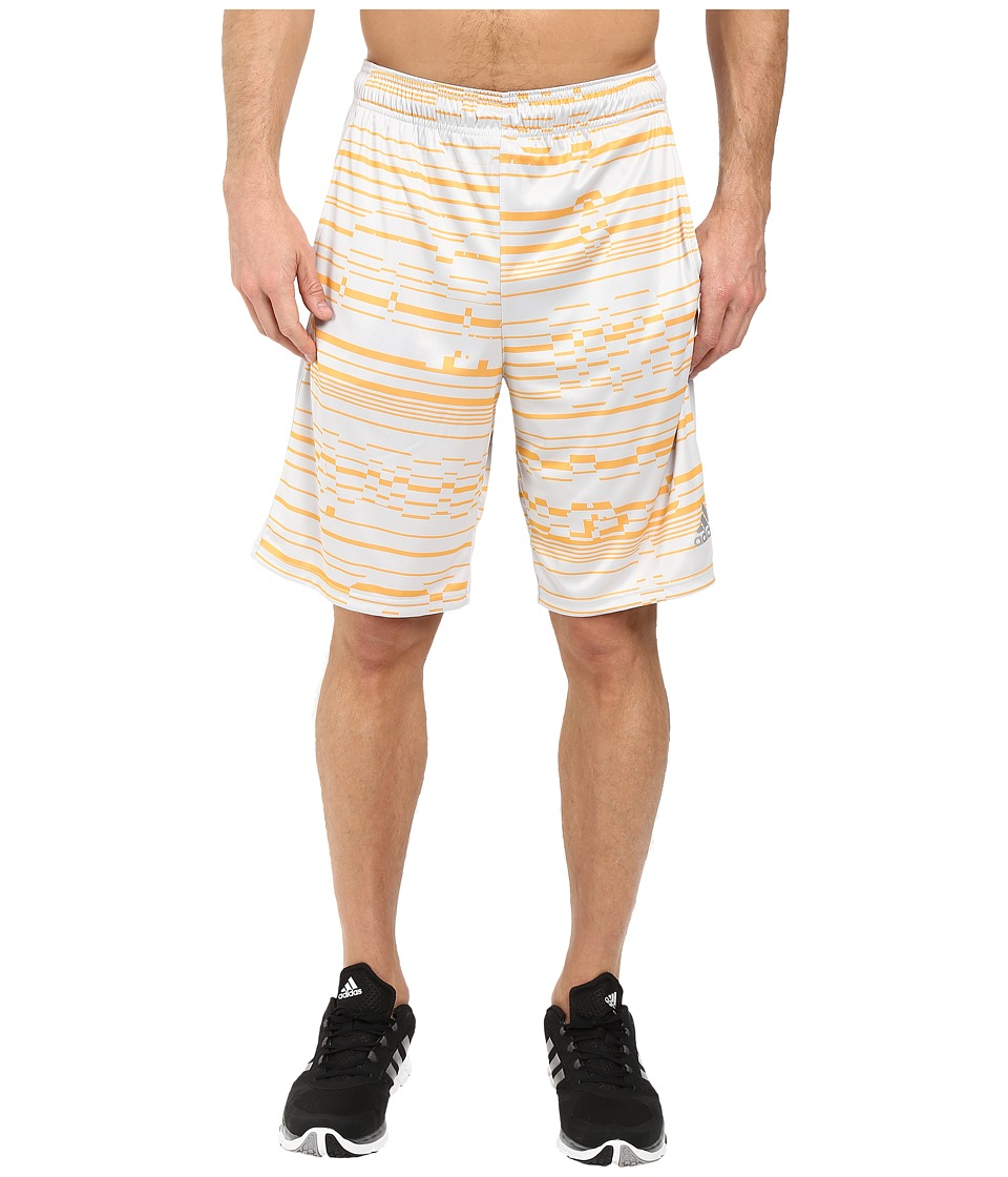 adidas - Climacore Shorts Sport Glitch (Light Solid Grey/Solar Gold/Light Solid Grey) Men's Shorts