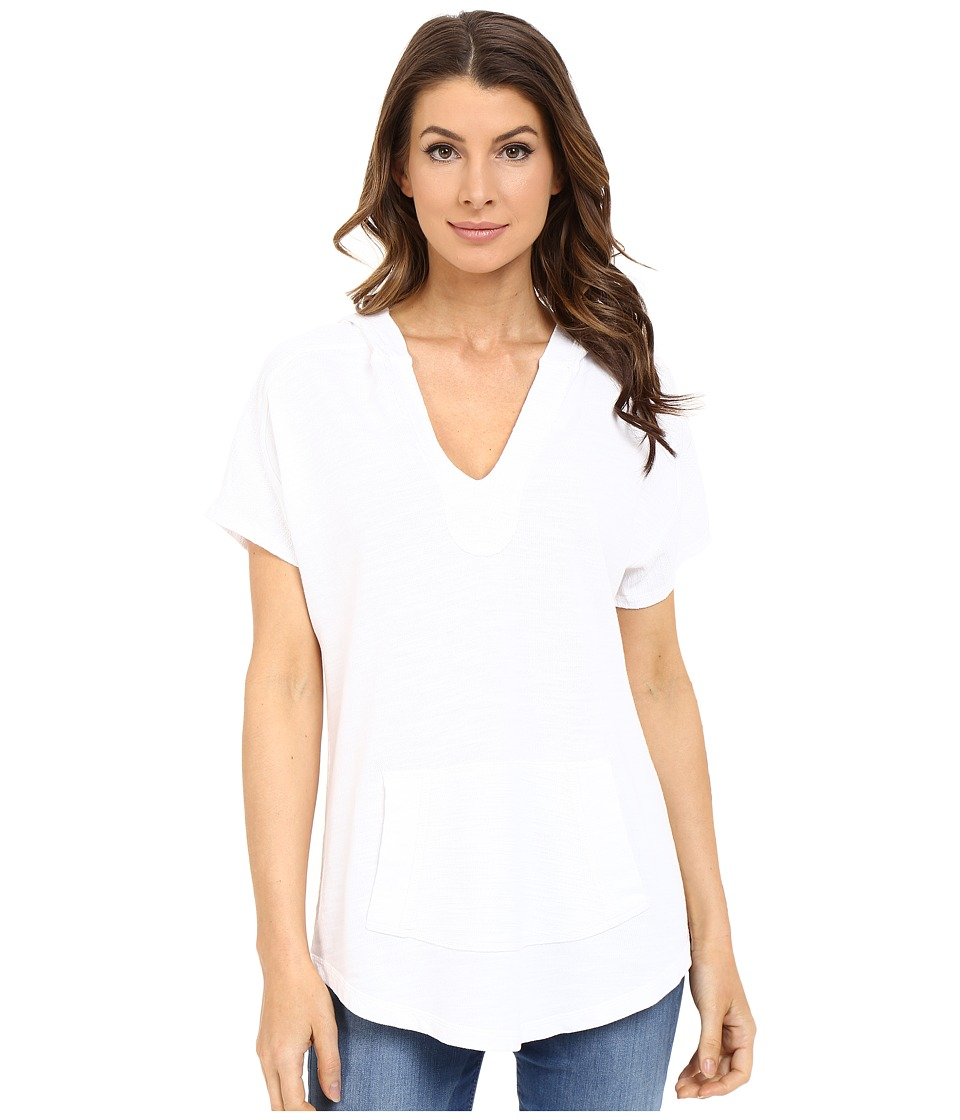 XCVI - Cadyna Hoodie (White) Women's Sweatshirt