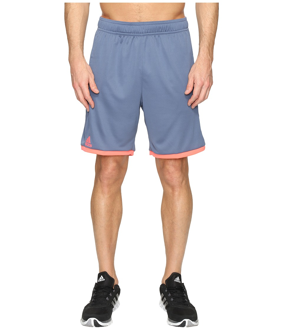 adidas - Court Shorts (Tech Ink/Flash Red) Men's Shorts