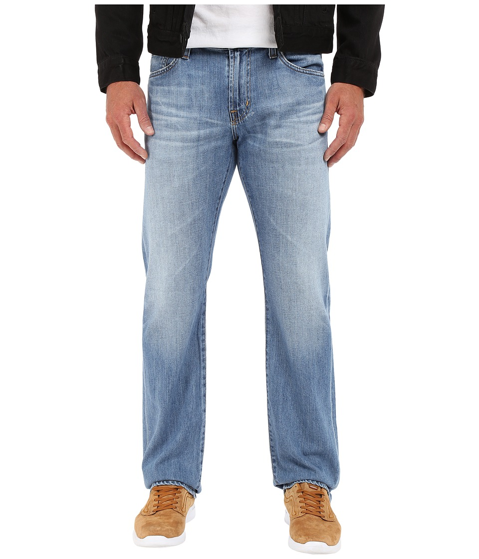 AG Adriano Goldschmied - Prot g Straight Leg Denim in Jeans in 16 Years Riverside (16 Years Riverside) Men's Jeans